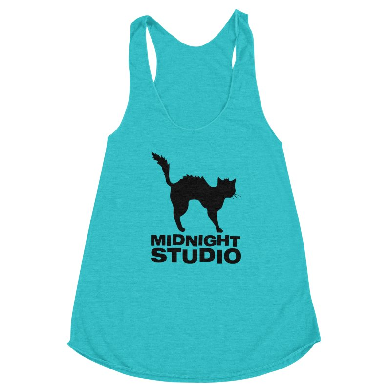 Studio Shirt Women's Racerback Triblend Tank by Midnight Studio