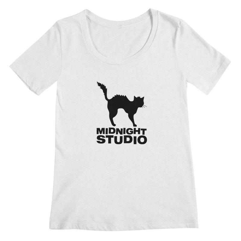 Studio Shirt Women's Regular Scoop Neck by Midnight Studio