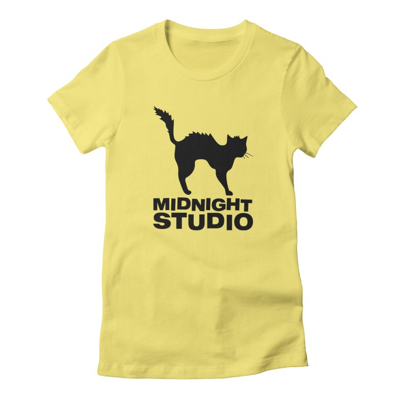 Studio Shirt Women's Fitted T-Shirt by Midnight Studio