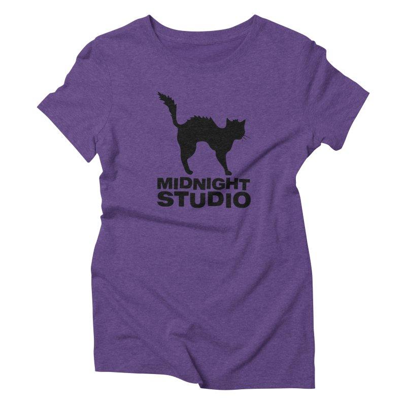 Studio Shirt Women's Triblend T-Shirt by Midnight Studio