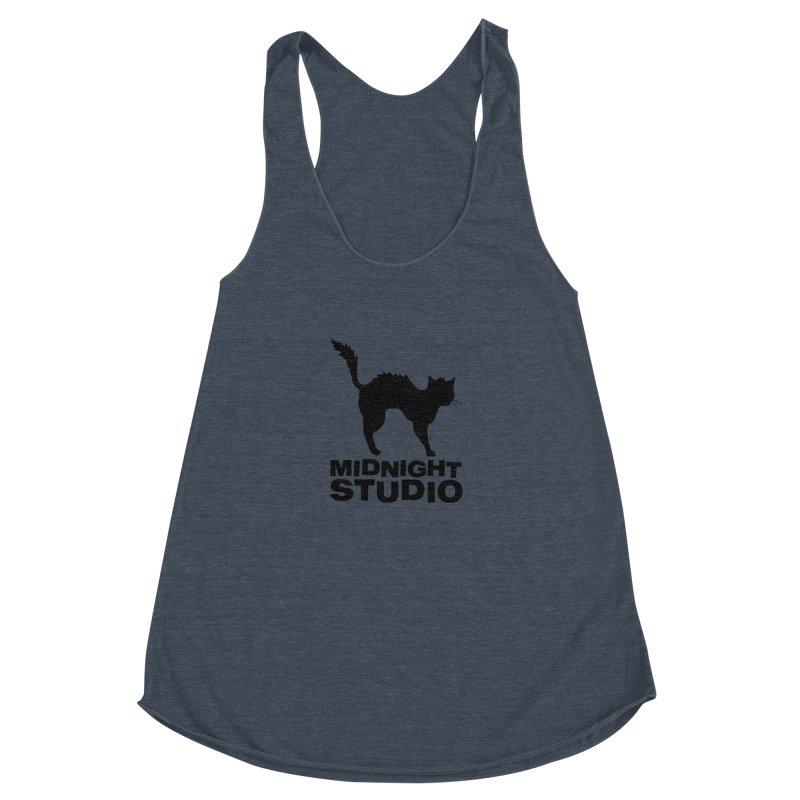 Studio Shirt Women's Racerback Triblend Tank by Midnight Studio