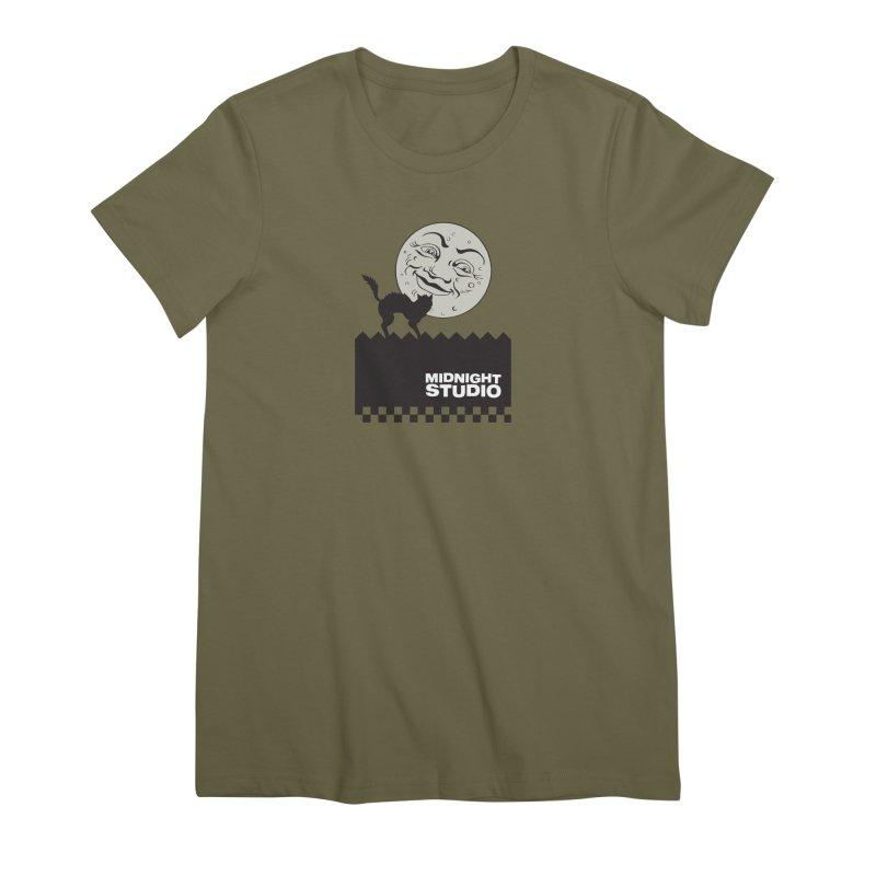 Classic Logo Shirt Women's Premium T-Shirt by Midnight Studio