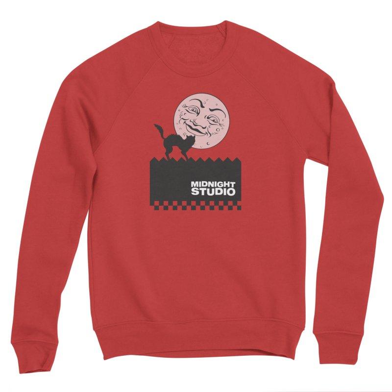 Classic Logo Shirt Men's Sponge Fleece Sweatshirt by Midnight Studio