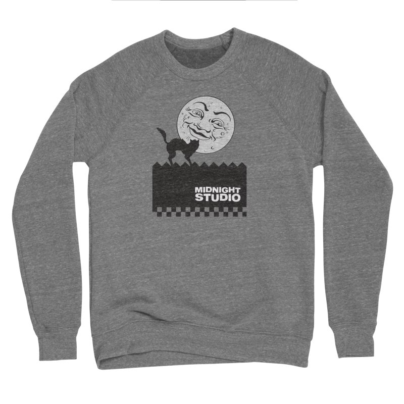 Classic Logo Shirt Men's Sponge Fleece Sweatshirt by Midnight Studio