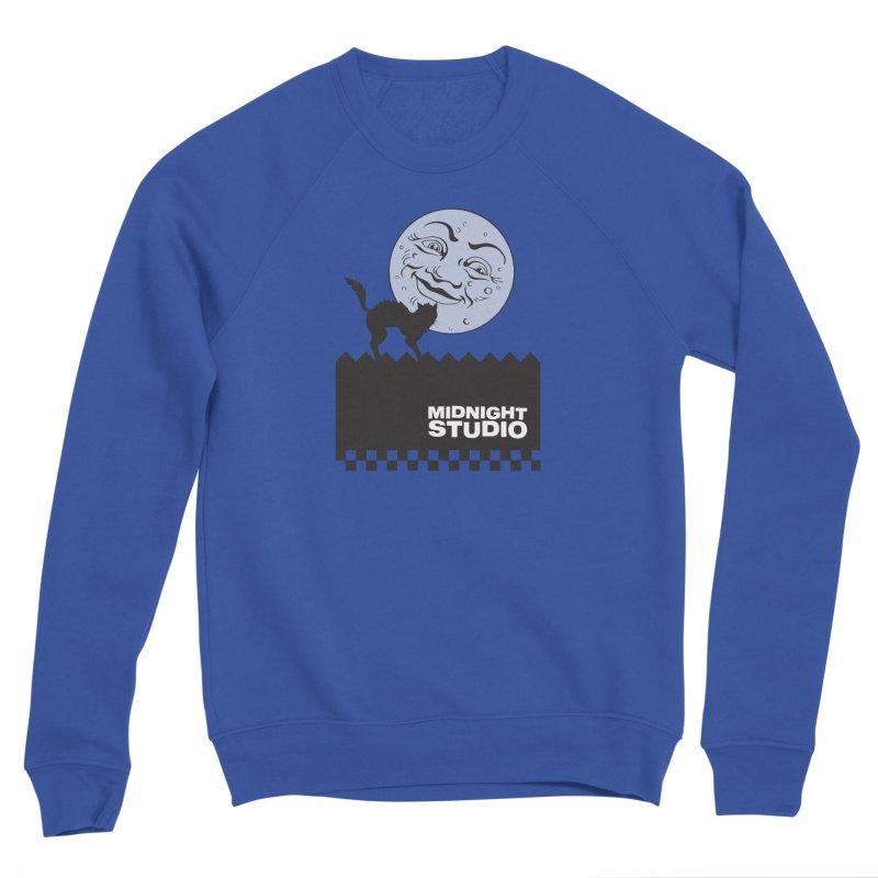 Classic Logo Shirt Women's Sponge Fleece Sweatshirt by Midnight Studio
