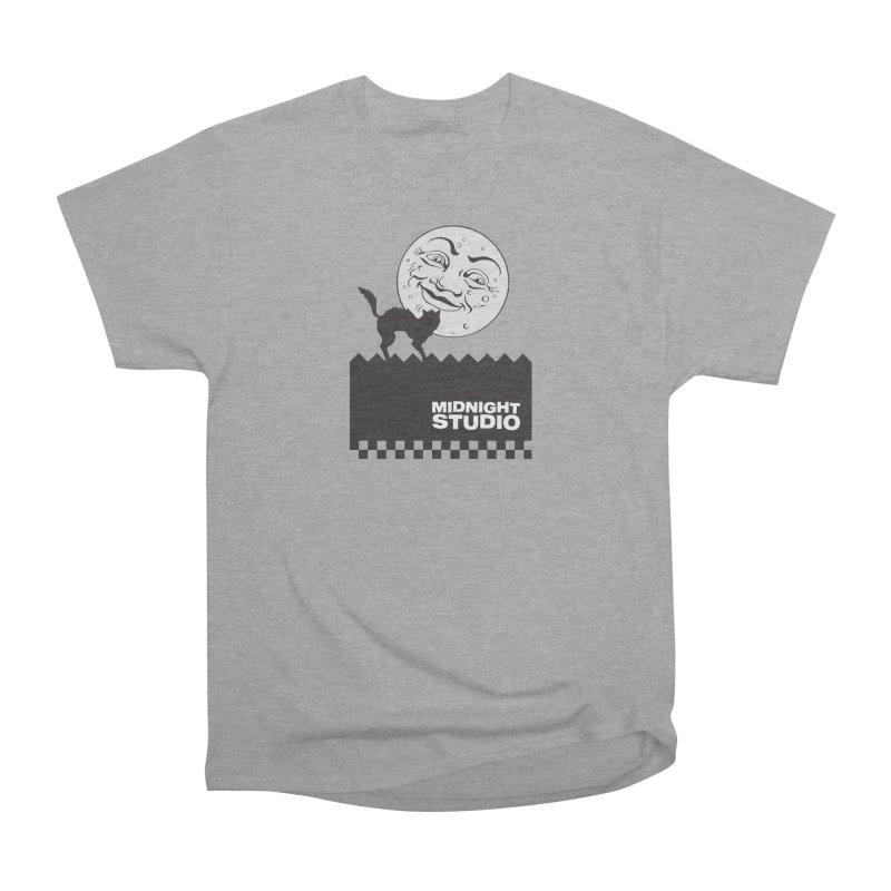 Classic Logo Shirt Men's Heavyweight T-Shirt by Midnight Studio