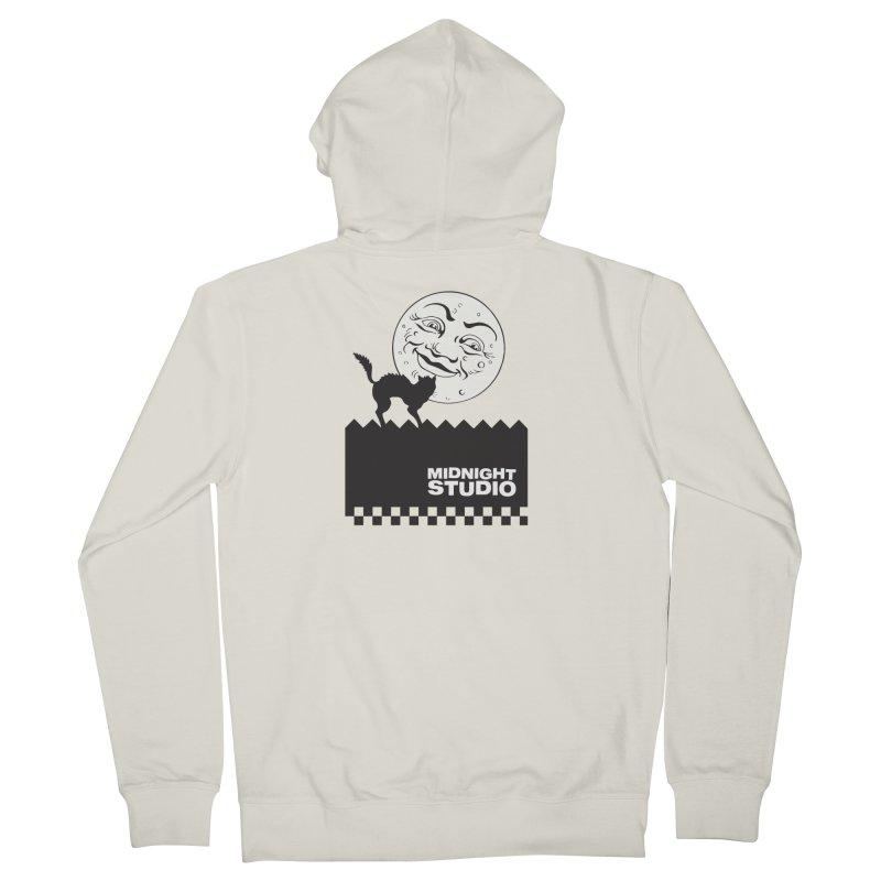 Classic Logo Shirt Women's French Terry Zip-Up Hoody by Midnight Studio