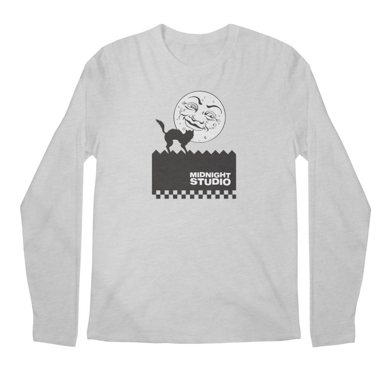 Classic Logo Shirt Men's Regular Longsleeve T-Shirt by Midnight Studio