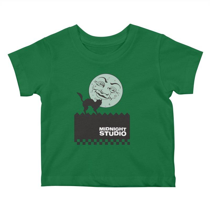 Classic Logo Shirt Kids Baby T-Shirt by Midnight Studio