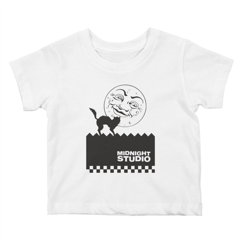 Classic Logo Shirt Kids Baby T-Shirt by Midnight Studio