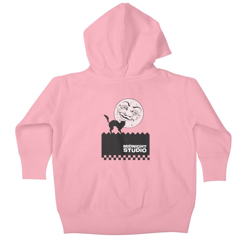 Classic Logo Shirt Kids Baby Zip-Up Hoody by Midnight Studio