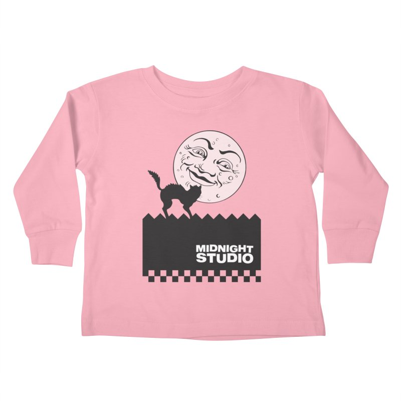 Classic Logo Shirt Kids Toddler Longsleeve T-Shirt by Midnight Studio