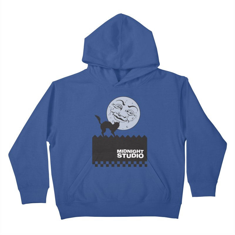 Classic Logo Shirt Kids Pullover Hoody by Midnight Studio