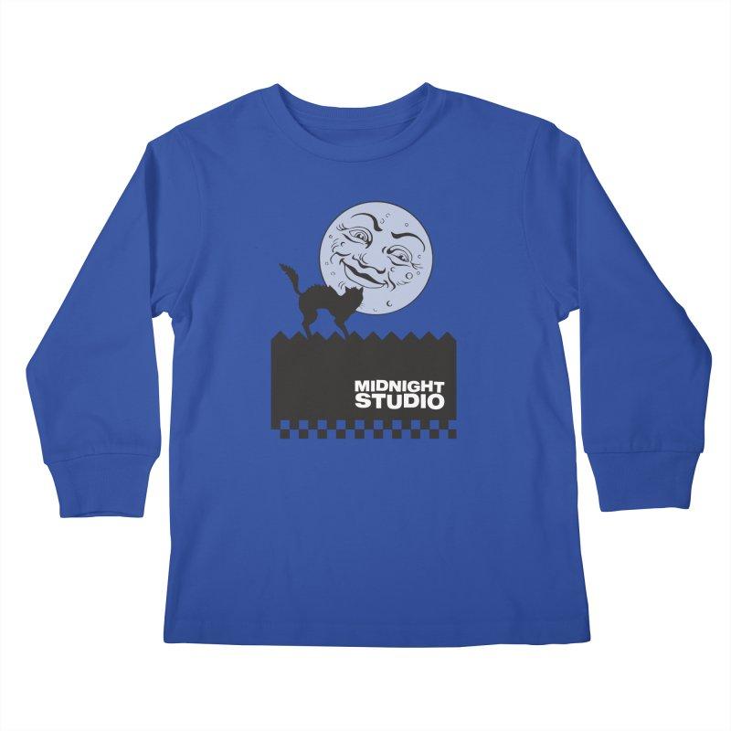 Classic Logo Shirt Kids Longsleeve T-Shirt by Midnight Studio