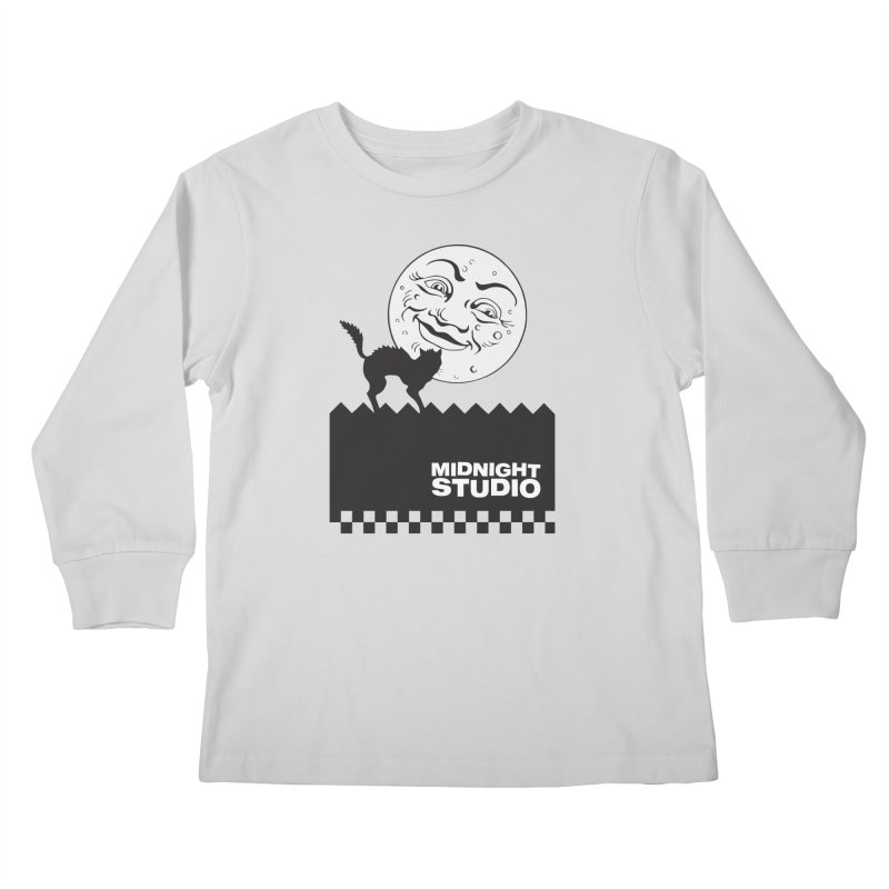 Classic Logo Shirt Kids Longsleeve T-Shirt by Midnight Studio