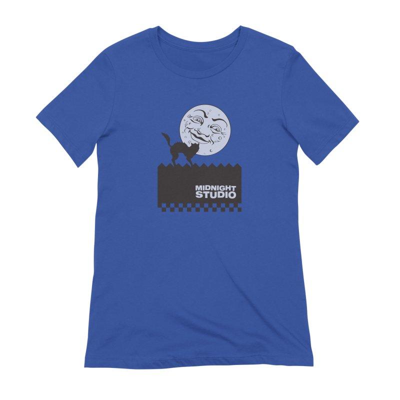 Classic Logo Shirt Women's Extra Soft T-Shirt by Midnight Studio