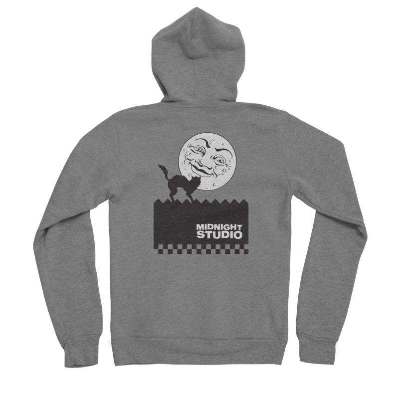 Classic Logo Shirt Men's Zip-Up Hoody by Midnight Studio