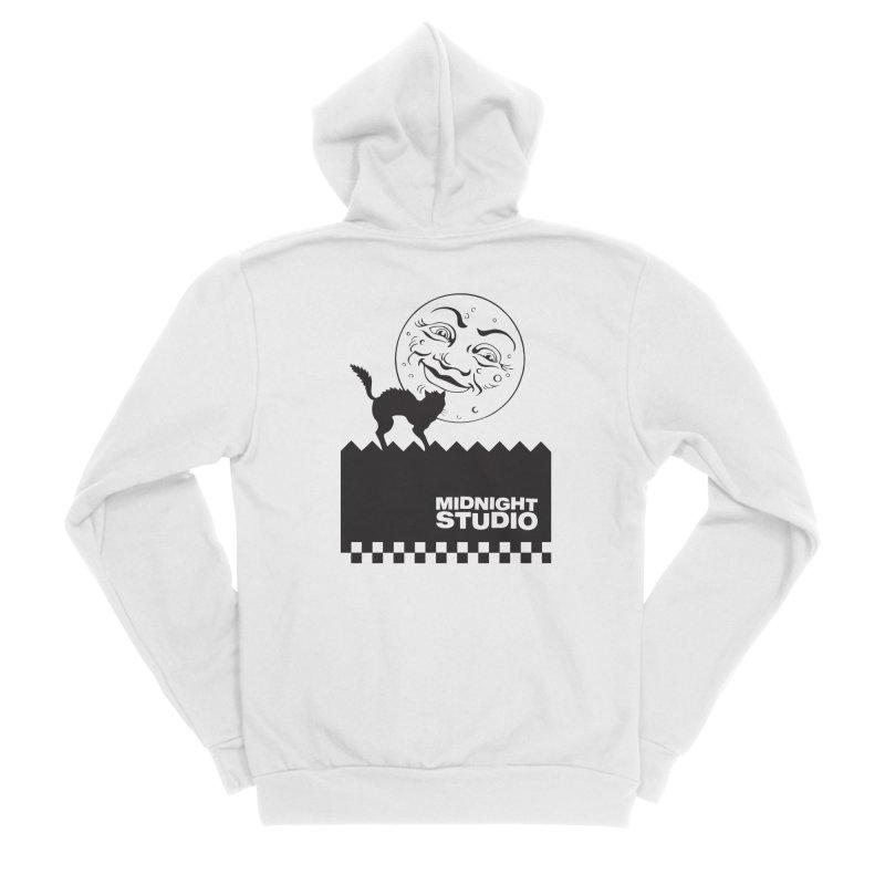Classic Logo Shirt Women's Zip-Up Hoody by Midnight Studio
