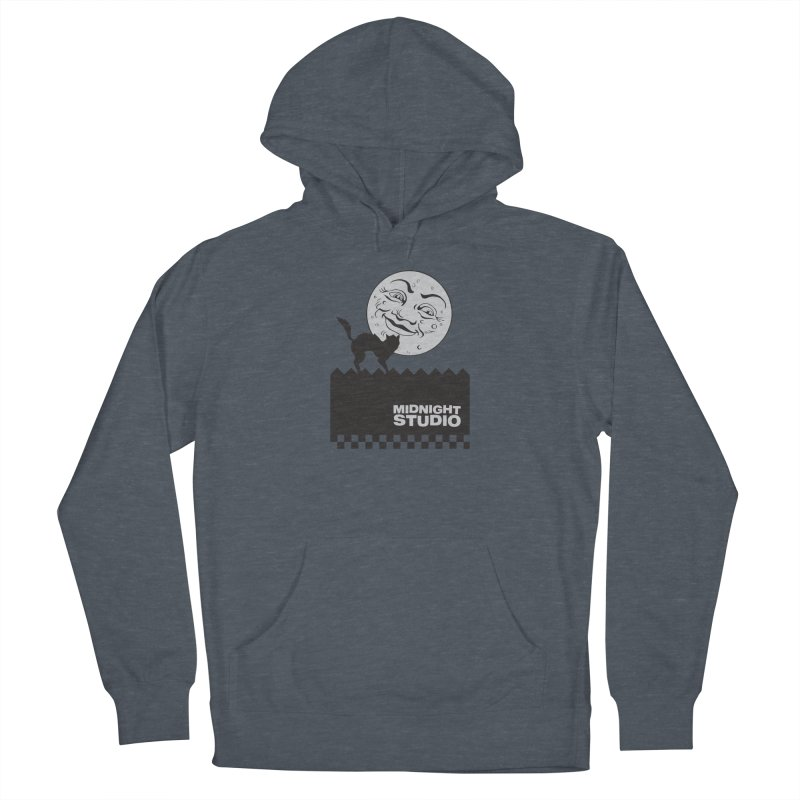 Classic Logo Shirt Men's French Terry Pullover Hoody by Midnight Studio