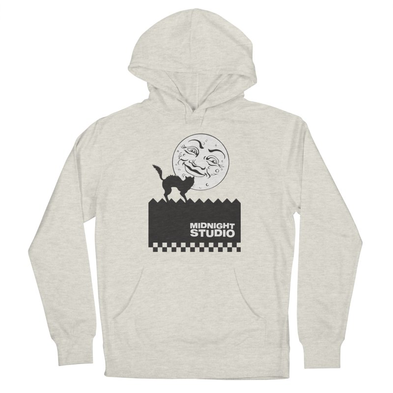 Classic Logo Shirt Women's French Terry Pullover Hoody by Midnight Studio
