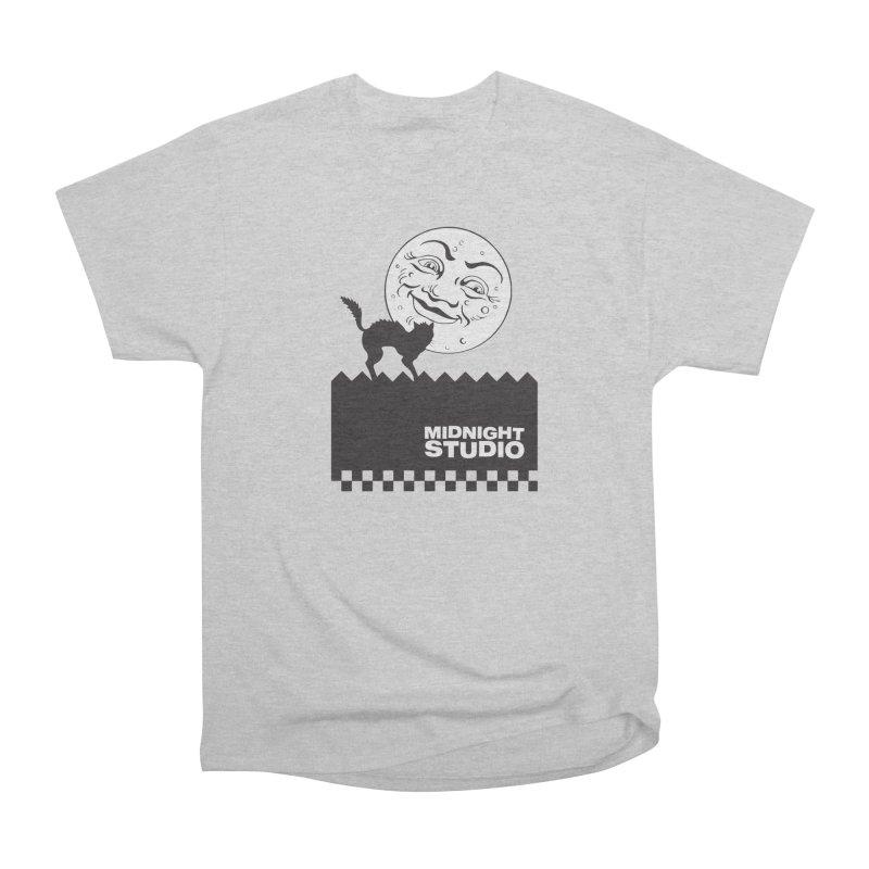 Classic Logo Shirt Women's Heavyweight Unisex T-Shirt by Midnight Studio