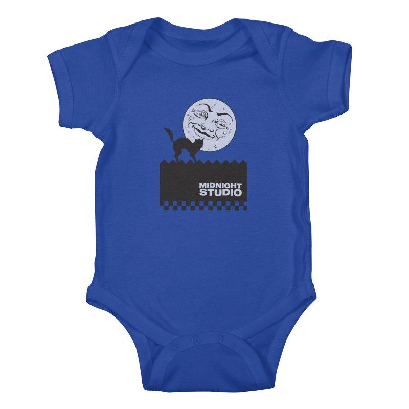 Classic Logo Shirt Kids Baby Bodysuit by Midnight Studio