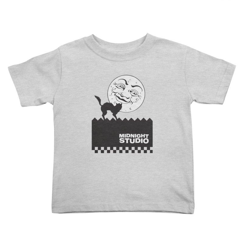 Classic Logo Shirt Kids Toddler T-Shirt by Midnight Studio