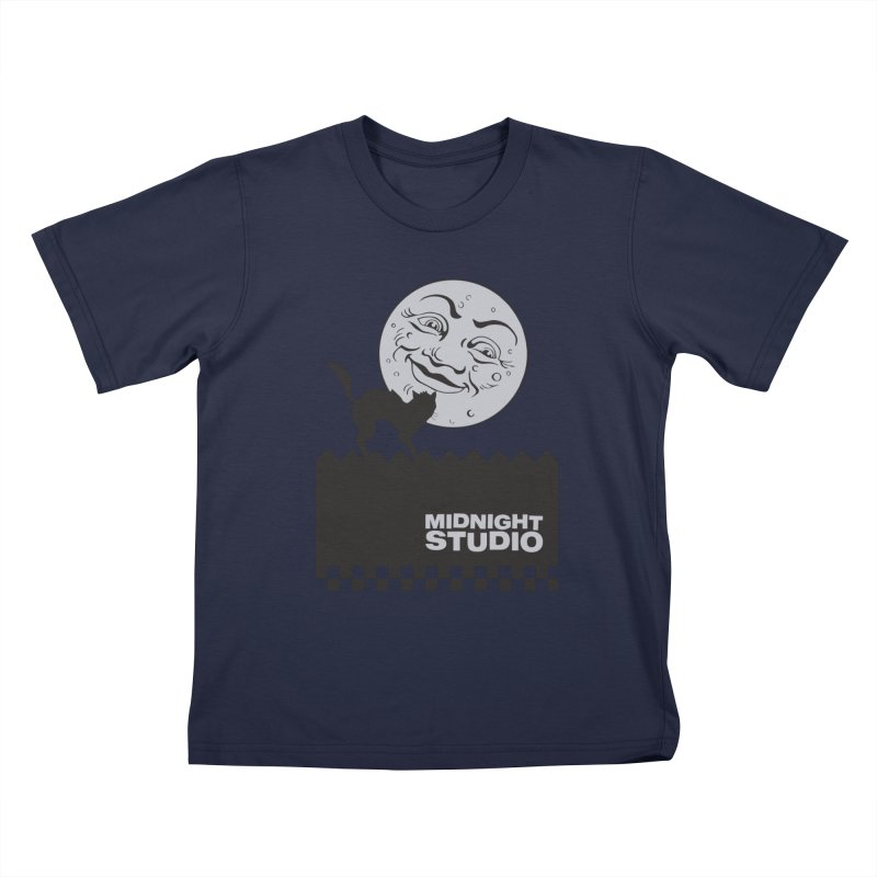 Classic Logo Shirt Kids T-Shirt by Midnight Studio