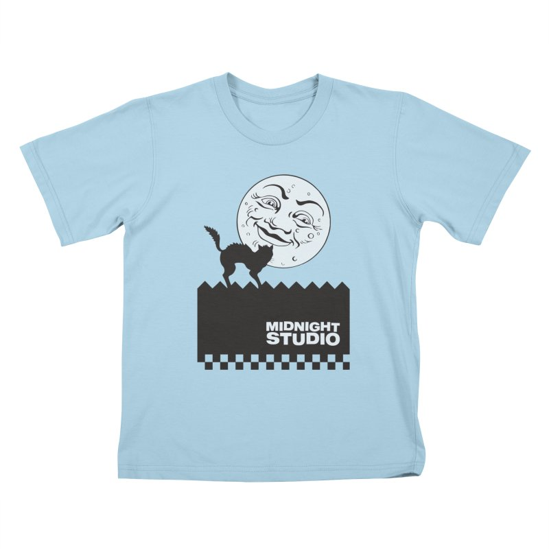 Classic Logo Shirt Kids T-Shirt by Midnight Studio
