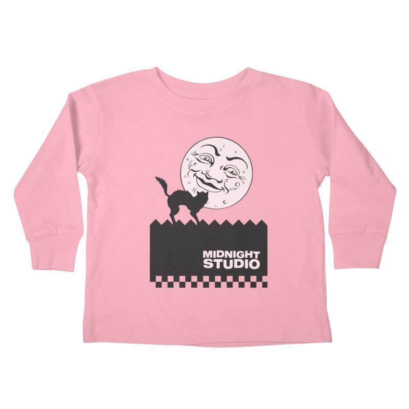 Classic Logo Shirt Kids Toddler Longsleeve T-Shirt by Midnight Studio