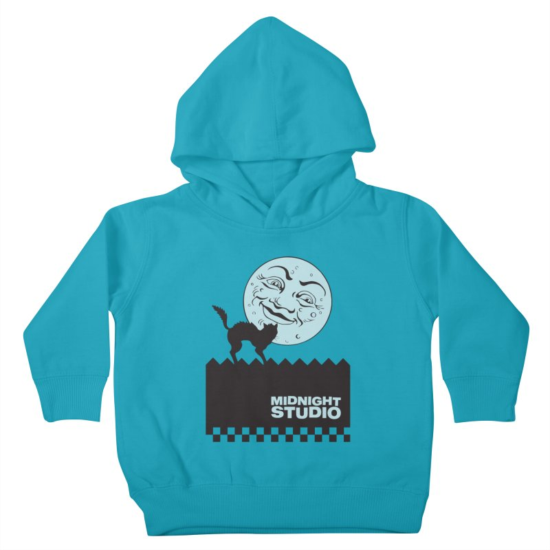 Classic Logo Shirt Kids Toddler Pullover Hoody by Midnight Studio