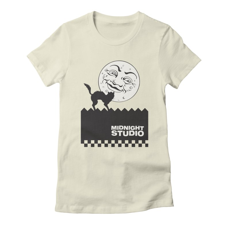 Classic Logo Shirt Women's Fitted T-Shirt by Midnight Studio