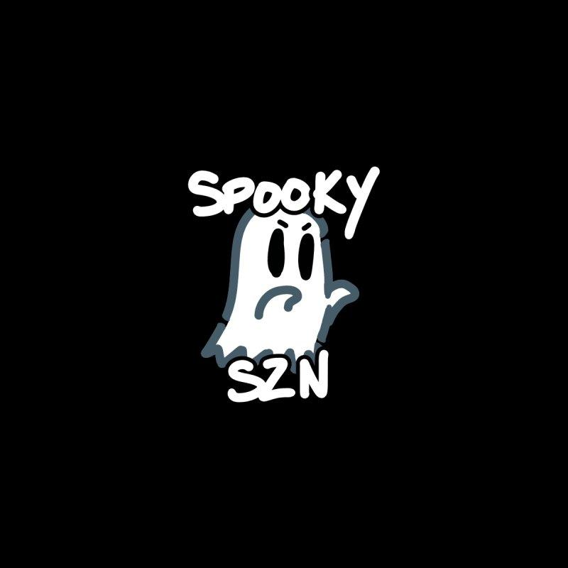 Spooky Szn Ghost Accessories Sticker by Redd's Art Shoppe