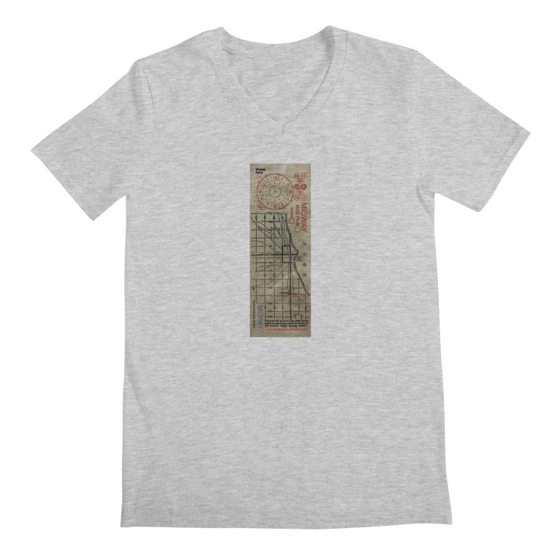 Transfer Men's Regular V-Neck by Midway Shop