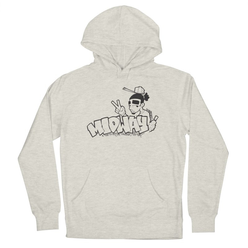Midway (Sean Doe Graffiti) Men's French Terry Pullover Hoody by Midway Shop