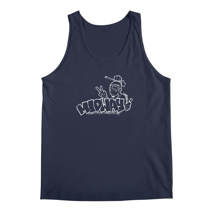 Midway (Sean Doe Graffiti, South Side) Men's Regular Tank by Midway Shop