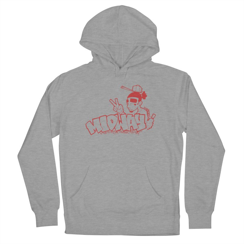 Midway (Sean Doe Graffiti, North Side) Men's French Terry Pullover Hoody by Midway Shop
