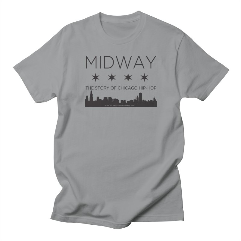 Midway (Black) Men's Regular T-Shirt by Midway Shop