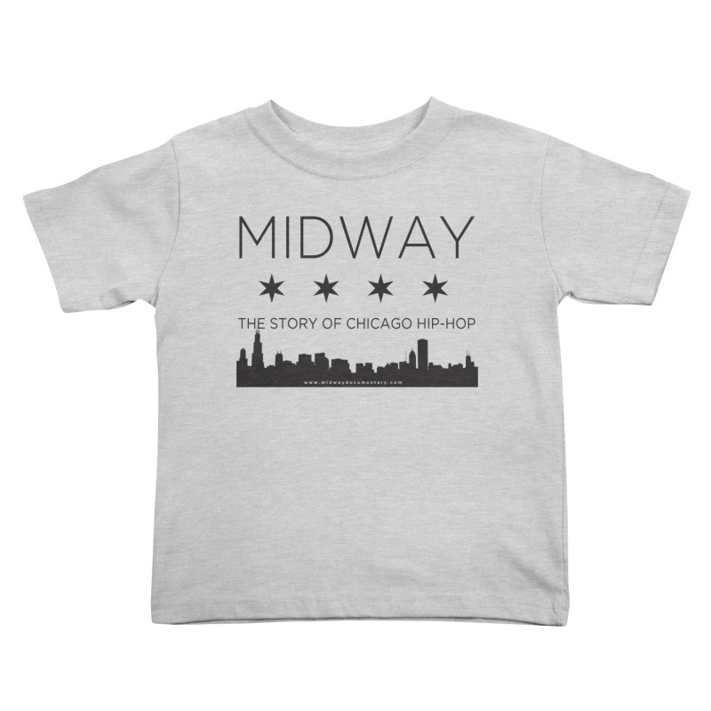 Midway (Black) Kids Toddler T-Shirt by Midway Shop