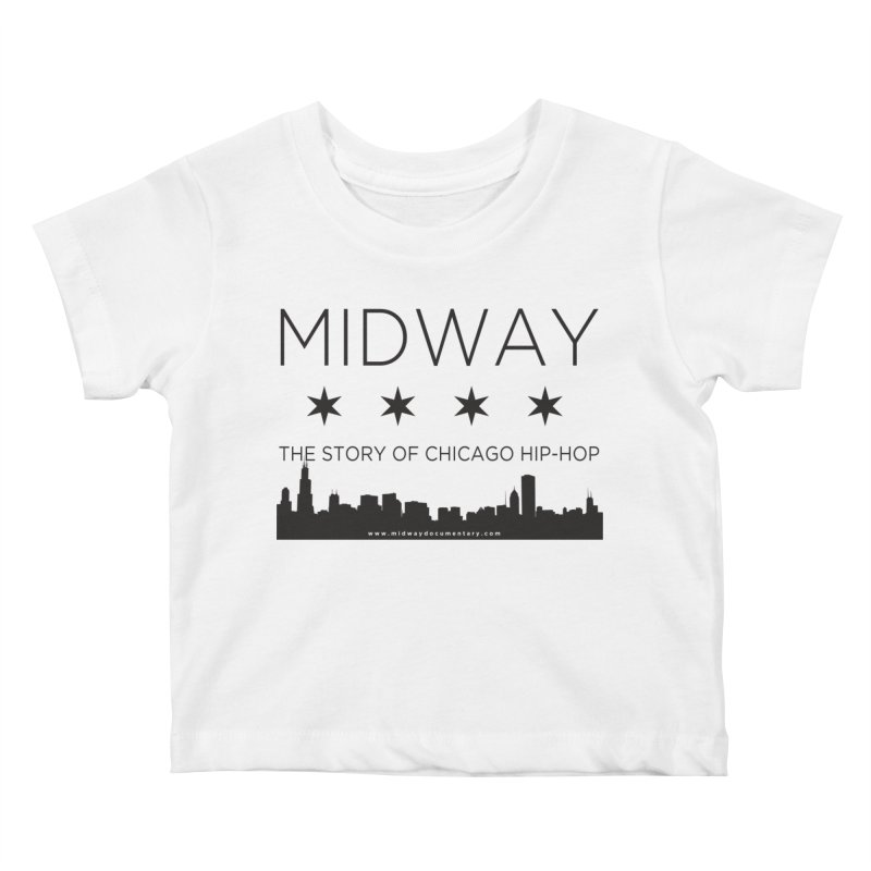 Midway (Black) Kids Baby T-Shirt by Midway Shop