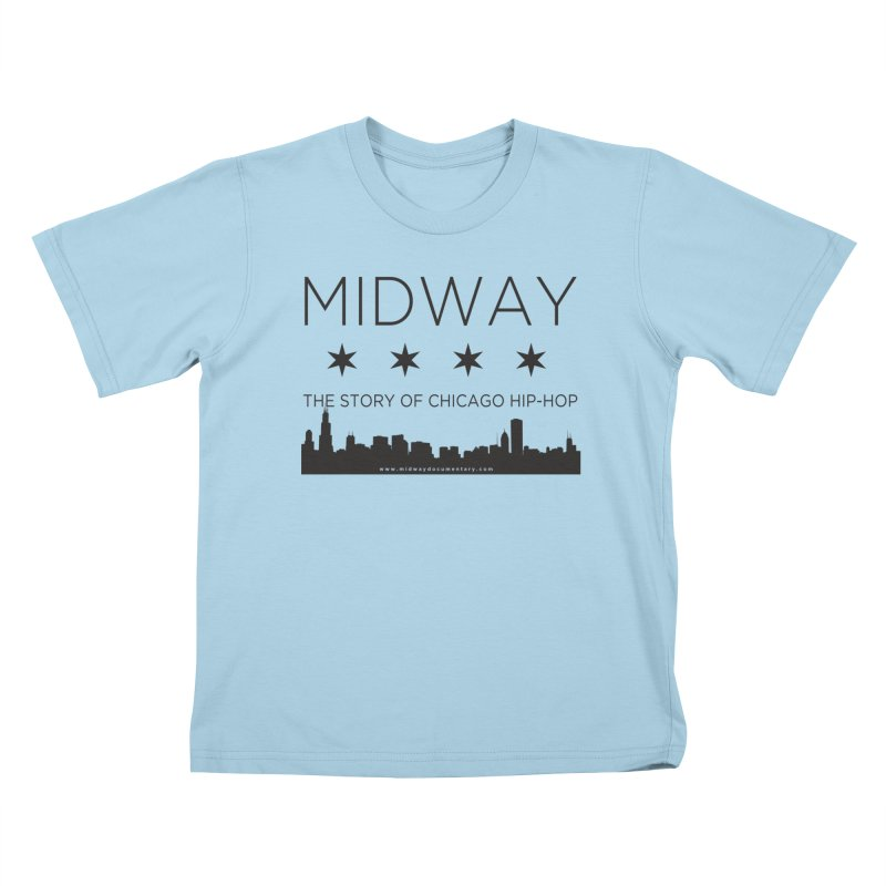 Midway (Black) Kids T-Shirt by Midway Shop