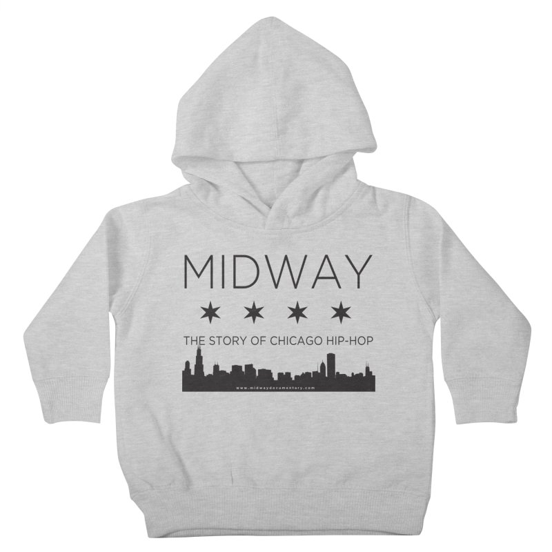 Midway (Black) Kids Toddler Pullover Hoody by Midway Shop