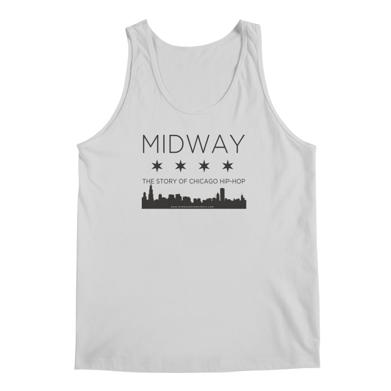 Midway (Black) Men's Regular Tank by Midway Shop