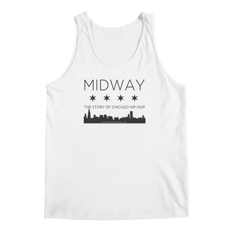 Midway (Black) Men's Regular Tank by Midway Shop