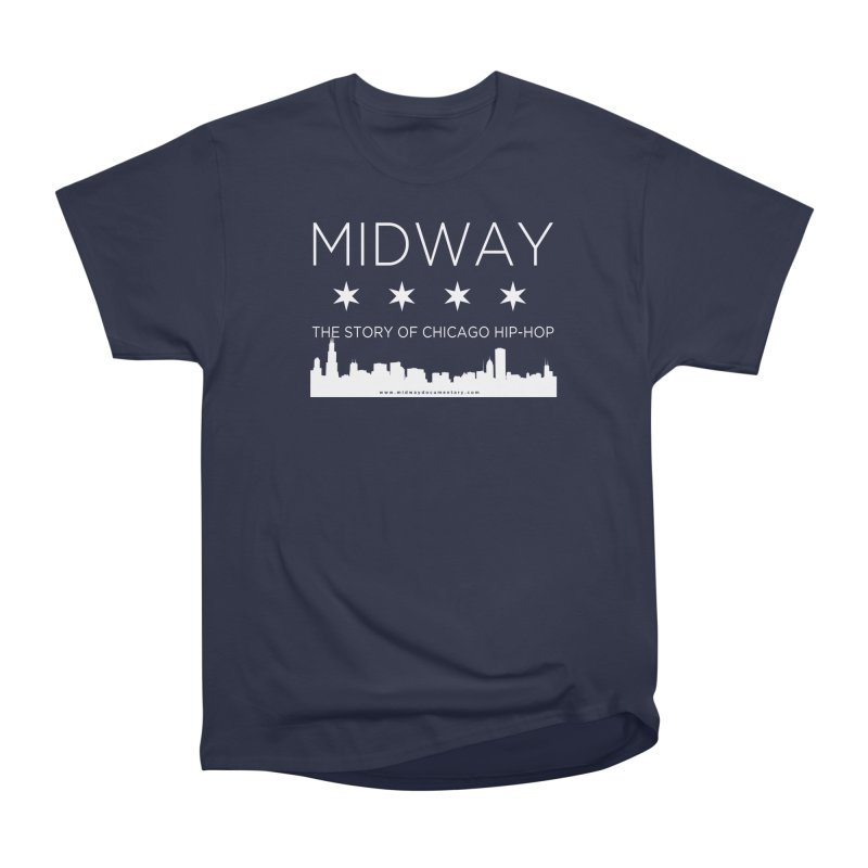 Midway (White) Men's Heavyweight T-Shirt by Midway Shop