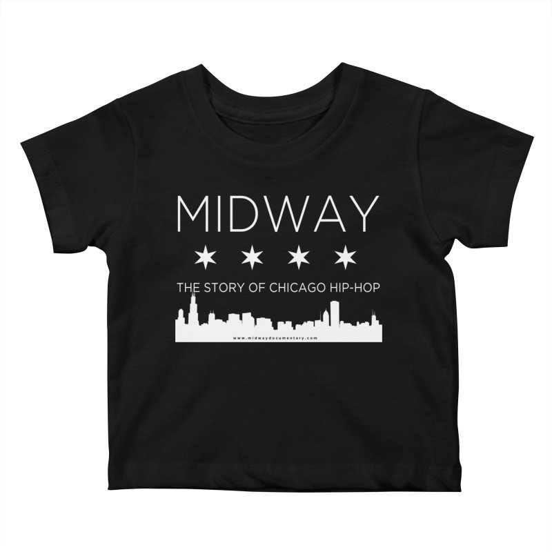 Midway (White) Kids Baby T-Shirt by Midway Shop