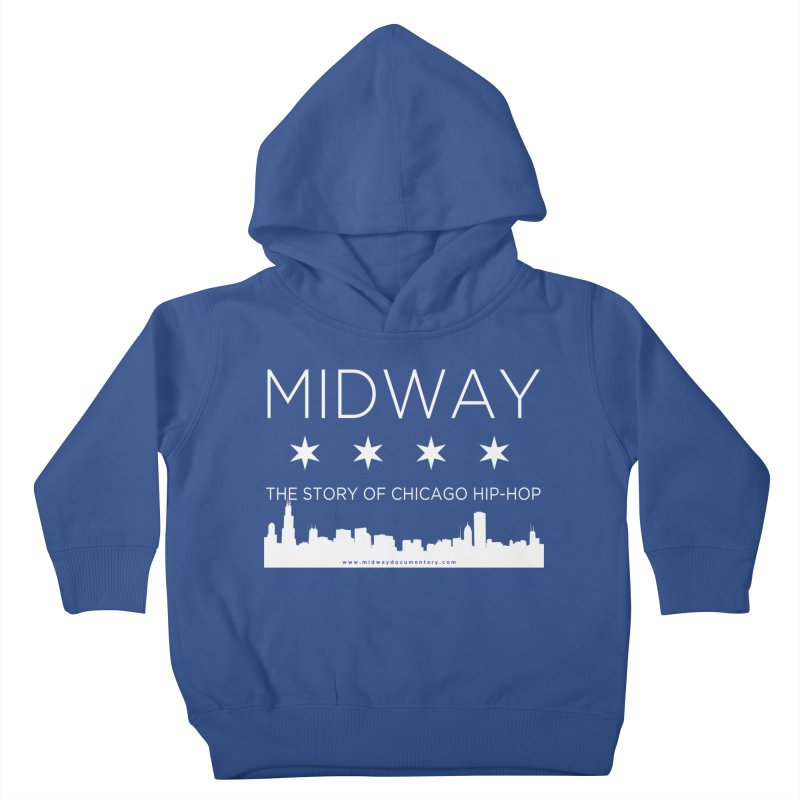 Midway (White) Kids Toddler Pullover Hoody by Midway Shop