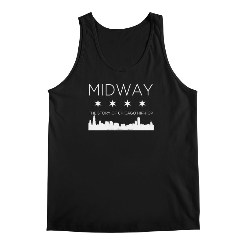 Midway (White) Men's Regular Tank by Midway Shop