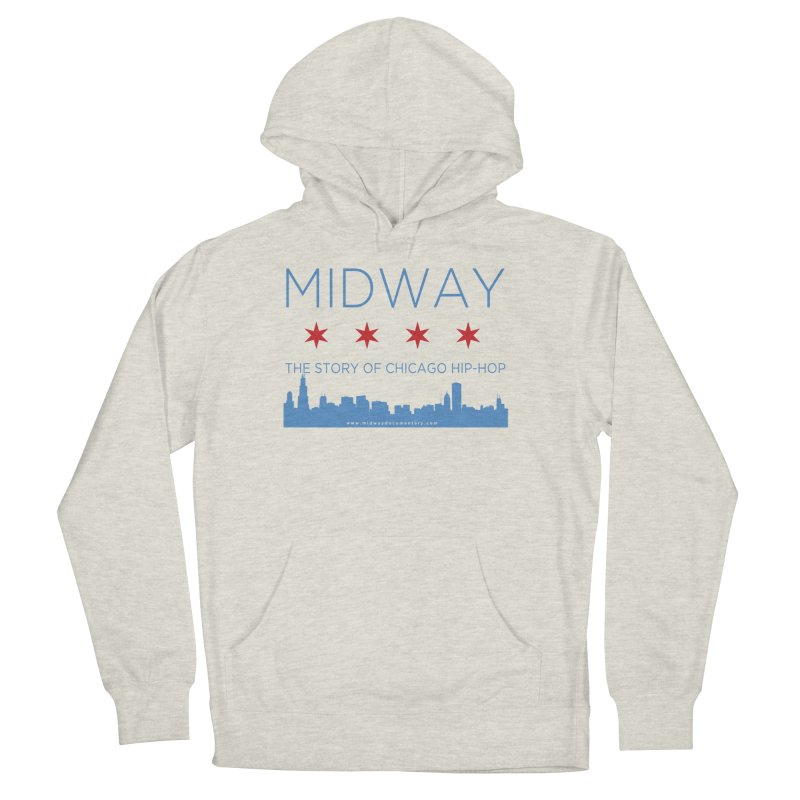 Midway (Chicago) Men's French Terry Pullover Hoody by Midway Shop