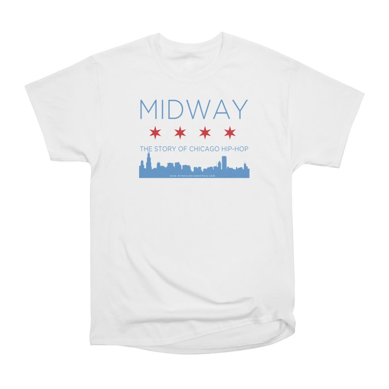 Midway (Chicago) Men's Heavyweight T-Shirt by Midway Shop